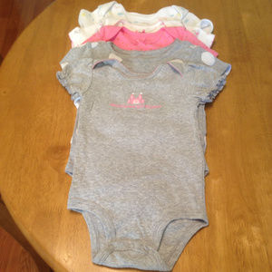 Bundle of 3 Child of Mine & 2 other Onsies